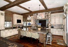 Lake Houses traditional kitchen