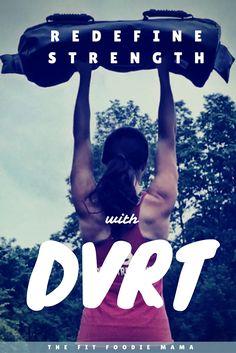 Redefine Strength with DVRT Fitness {Dynamic Variable Resistance Training, Ultimate Sandbag, Movement, Strength, Functional Fitness, Functional Training}