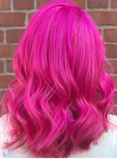 56 Brightest Pink Hairstyles & Hair Color Ideas for 2018