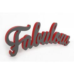 FABULOUS WALL DEKORATION