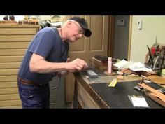 How to Sharpen Swivel Knife Blades Leathercraft Tutorial - YouTube