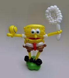 une sculpture de ballon gonflable par jour bob l eponge   une sculpture de ballon gonflable par jour pendant un an   Sculpture Rob Driscoll ...