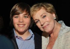 Julie Andrews with her grandson Sam at Live at Club Starlight, June 19, 2010
