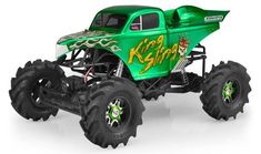JConcepts Inc officially announces Dennis Anderson's King Sling RC Mega Truck Body! - http://ift.tt/2zOpo1P
