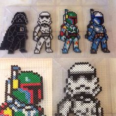 Star Wars perler beads by perlerthesprites_byliz
