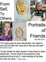 Reggio: Examining Self Portraits – A Journey Into Inquiry Based Early Learning Learning Stories, Play Based Learning, Stories For Kids, Early Learning, Reggio Inspired Classrooms, Reggio Classroom, Classroom Ideas, Portfolio Kindergarten, Kindergarten Art