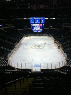 Bridgestone Arena, Nashville, TN - Home of the Nashville Predators!... took manny to his 1st hockey game here