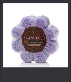 Spugna Spongelle dosata per 10+ lavaggi al profumo di Lavanda e Limone Meyer