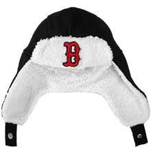 c807055750a boston red sox infant trappre knit cap by new era