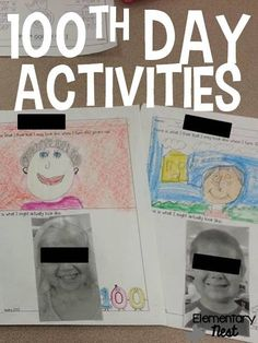 100th Day of School Fun Activities plus a FREEBIE