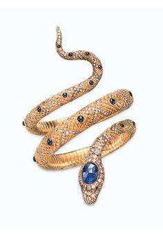 OMGGG this snake bangle ROCKS! LOVE.
