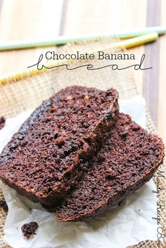 Absolutely amazingly easy chocolate banana bread that starts with a cake mix! Your friends and family will thank you for this one!