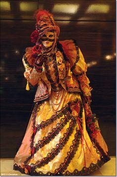 carnaval veneciano en Aix les Bains. FR.-