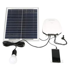 how to build a basic portable solar power system