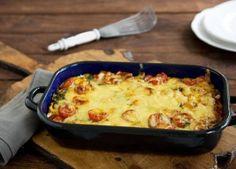 Rezept Gemüsegratin mit Möhren, Tomaten und Zucchini