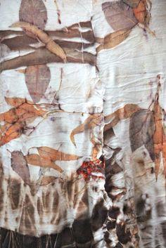 Studio 907: Eco Printed Alabama Chanin dress