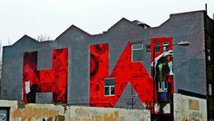 Hackney Wick - Coca Cola Mural Defacement (with style)