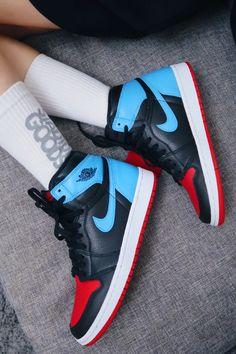 Jordan 11, Air Jordan 1 Unc, Jordan 1 High Og, Jordan Ones, Jordan Shoes Girls, Air Jordan Shoes, Girls Shoes, Shoes Jordans, Kd Shoes
