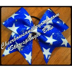 To order one of our bows, go to cheerbowsandbeyond.com. Follow us on Instagram and Facebook at Cheerbowsandbeyond.