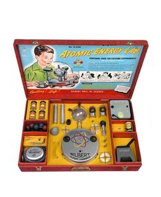 Gilbert Atomic Energy Lab.....I want one of these!!!