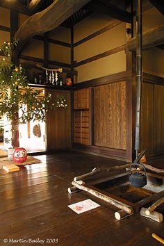 Edo Era Japanese Living Room - Koganei, Tokyo