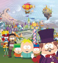 South Park's Imagination land!