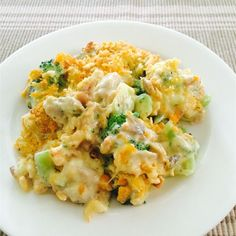 Broccoli Chicken Divan | Fresh broccoli and chicken bake in a savory ...