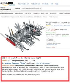Best Amazon Review Ever
