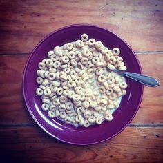 cheerios!- my breakfast most mornings