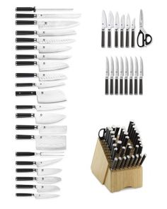 Shun Classic 37-Piece Knife Block Set ... for when I'm a professional chef... #WilliamsSonoma