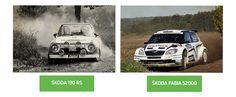 SKODA 130 RS et SKODA Fabia S2000 #SKODA #SkodaStory