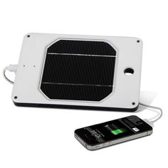 The Best Portable Solar Charger - Hammacher Schlemmer. This portable solar powered charger earned The Best rating from the Hammacher Schlemmer Institute because it charged devices the fastest and was the most durable. Hammacher Schlemmer, Cool Stuff, Gadgets And Gizmos, Electronics Gadgets, Tech Gadgets, Solar Powered Phone Charger, Solar Charger, Solar Power Energy, Solar Power System
