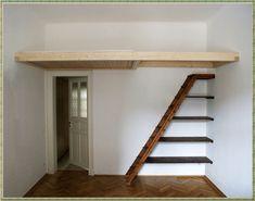 um die ecke mit anderer leiter und in weiss wohnen pinterest hochbett selber bauen. Black Bedroom Furniture Sets. Home Design Ideas