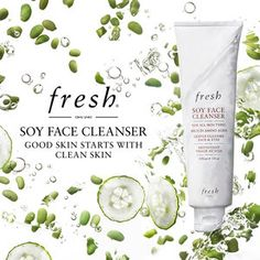 Fresh - Soy Face Cleanser - This product has been a part of my skin care routine for about three years now.
