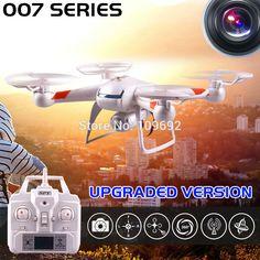الأصلي عشرة ألوان بدون طيار DM007 GW007 GW007-1 نسخة مطورة 4ch 6-Axis 2.4 جرام rc quadcopters يمكن إضافة hd 2mp كاميرا مقابل X5C H12C