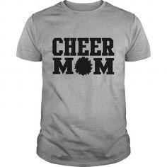 I Love  Cheer Mom Design T-Shirts