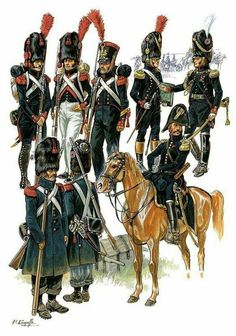 Imperial Guard Artillery Granatieri francesi