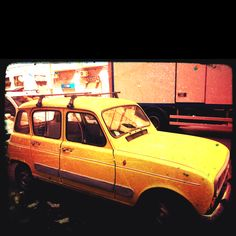 Yellow Old Car...