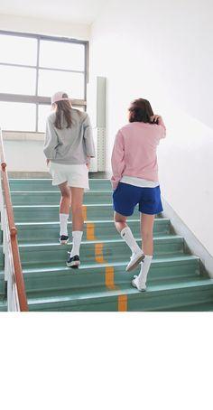 Mid-Thigh Shorts (White) | STYLENANDA