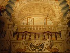 Trompe en Pallazzo Pamphili. Roma