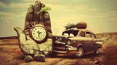 Pocket watch in hand with auto in the desert DIY Diamond Painting Woman Men Children Elder Home Hobby Handmade Artwork Wall Decoration Shinny Rhinestone Painting Special Masterpiece Wedding Birthday Graduation Gifts Custom Photo Private Presents Poster Wall, Poster Prints, Color By Numbers, 5d Diamond Painting, Diy Car, Creative Activities, Living Room Art, Photo Backgrounds, Your Paintings