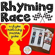 Rhyming Race - A rhyme producing game