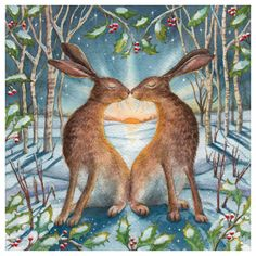 By Wendy Andrew.Loving the Yule Dawn. The warmth of love in the cool of winter. A beautiful achievement .