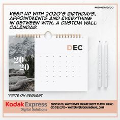 Customized Wall Calender