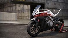HUSQVARNA MOTORCYCLE by ROUSSEAU Tony, via Behance