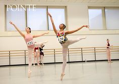 Dancers at a Pennsylvania Ballet audition, I can't believe that girl is wearing that leotard to an audition lolol