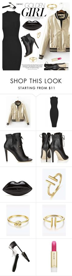 """Golden Girl"" by metisu-fashion ❤ liked on Polyvore featuring Murphy, Jimmy Choo, Lancôme, Paul & Joe, polyvoreeditorial, polyvoreset and metisu"