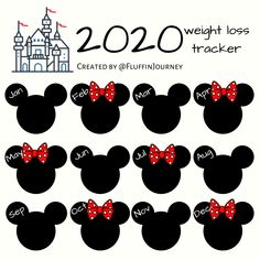 Disney Mickey and Minnie Mouse weight loss Tracker The Effective Pictures We Offer