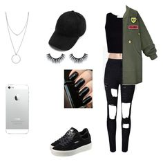 Jade picon inspire 1 by hillaryhemmings on Polyvore featuring polyvore, fashion, style, WithChic, Calvin Klein, Puma, Botkier and clothing