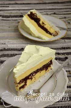 Rafaelo torta Torte Recepti, Kolaci I Torte, Sweet Recipes, Cake Recipes, Dessert Recipes, Desserts, Rafaelo Cake, Chocolate Bowls, Torte Cake